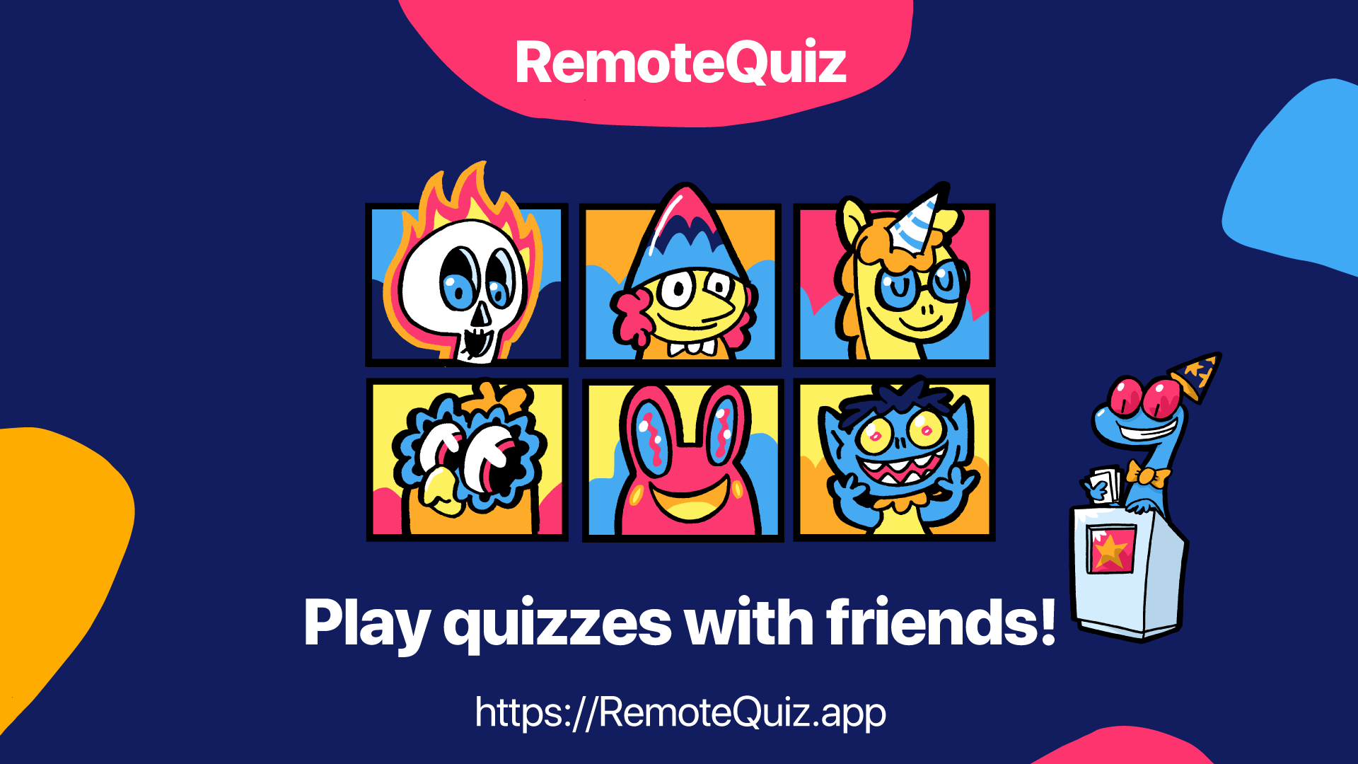 RemoteQuizz Illustrations